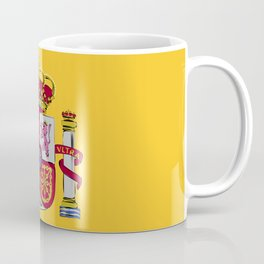 Spain flag emblem Coffee Mug