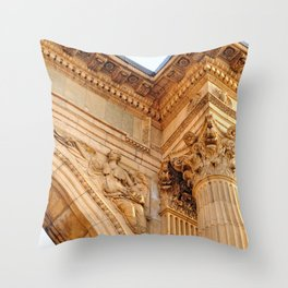 The Art of Stone Throw Pillow