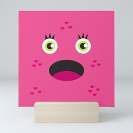 Pink Monster Mini Art Print