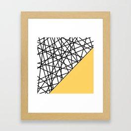 Lazer Dance YY Framed Art Print