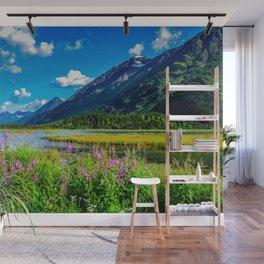God's Country - Summer in Alaska Wall Mural