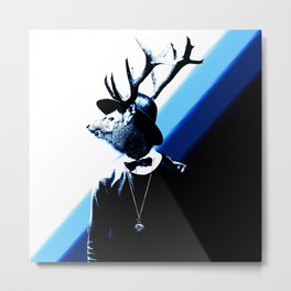 DeerMan Metal Print