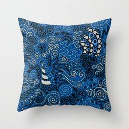 Hey, Beautiful Throw Pillow