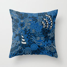 Hey, Beautiful Throw Pillow