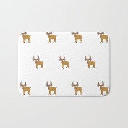 Moose Pattern Bath Mat