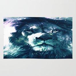 Lion Leo Teal Rug