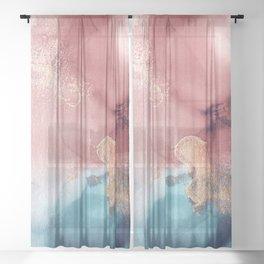 Midas Touch Sheer Curtain