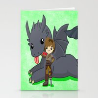 how to train your dragon Stationery Cards featuring How to Train Your Dragon 2 by Mayying