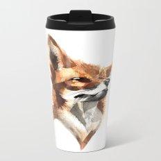 Foxy Metal Travel Mug