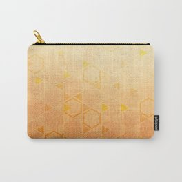 Rose Gold Abstract Carry-All Pouch