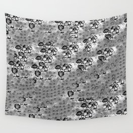 Flowers and Textiles Wall Tapestry