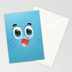 gumball  , gumball  games, gumball  blanket, gumball  duvet cover,  Stationery Cards