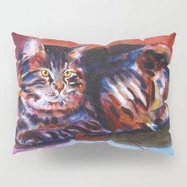 Terra Cotta Tabby Pillow Sham