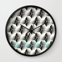 Natural Geometry Wall Clock