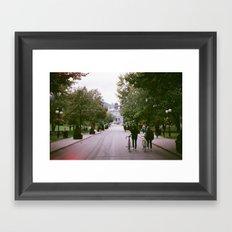 McGill Framed Art Print