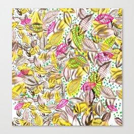 hojas de otoño Canvas Print