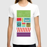 toy story T-shirts featuring TOY STORY : BUZZ LIGHTYEAR STICKERS KIT by DrakenStuff+