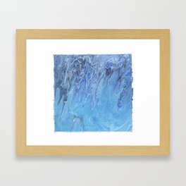 Amethyst Tide Pools Framed Art Print