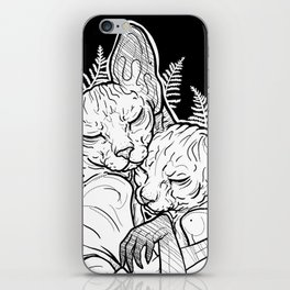 (un)loved sphynxes iPhone Skin