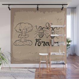Die Hard Romantic Wall Mural