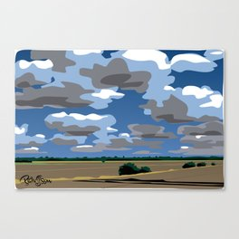 NoCal highway scenic Canvas Print