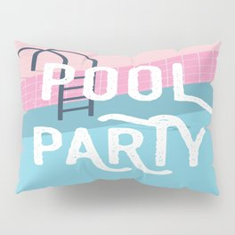 Pool party - summer vibes Pillow Sham