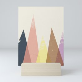 Scandinavian Nordic Mountains Mini Art Print