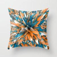 splash Throw Pillows featuring Splash by Danny Ivan