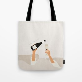 Good morning mid century art Tote Bag