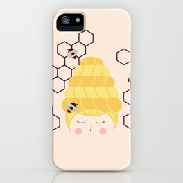 Lady Beehive iPhone Case