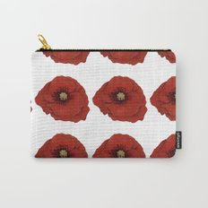 I Adore Poppies Carry-All Pouch