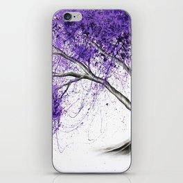 Purple Tree iPhone Skin