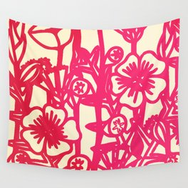 electric flower Wall Tapestry