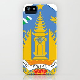 BALI FLAG iPhone Case