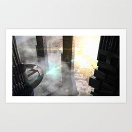 Megacity Art Print