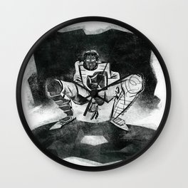 The Catcher: An Enigmatic Two Wall Clock