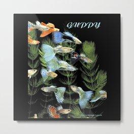 Guppy Metal Print
