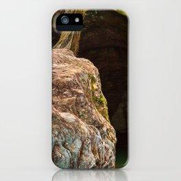 Gobble Rock Cave iPhone Case