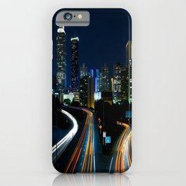 Downtown Atlanta At Night iPhone Case