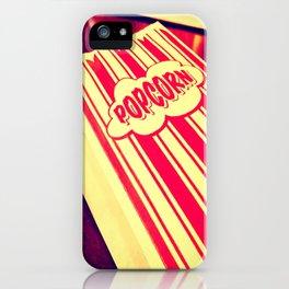 Popcorn, Get Your Popcorn Here!!! iPhone Case