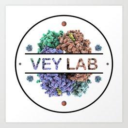 Vey Lab Logo Art Print