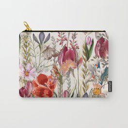 Bright spring field. Romantic pattern Carry-All Pouch
