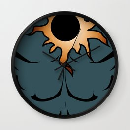Eclipse Body Armor- NEW SUPERHERO!! Wall Clock