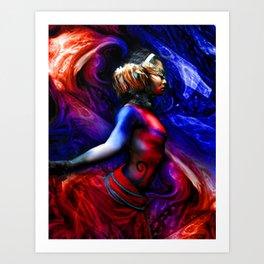 HVH Mito Art Print