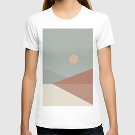 Geometric Landscape 04 T-shirt