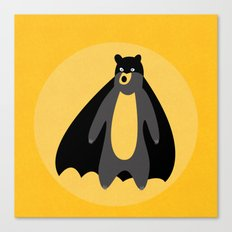 The Batbear on Mission! Canvas Print