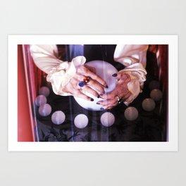 Gypsy Hands Art Print