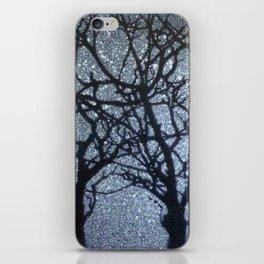 Starry Winter Night iPhone Skin