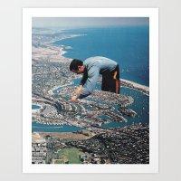 Urban Planning Art Print