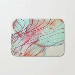 Pink Jellyfish Bath Mat